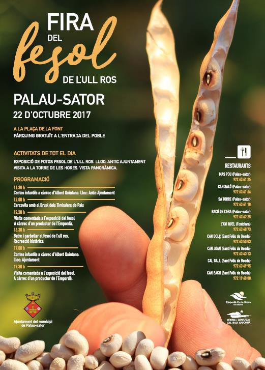 22 Octubre 2017 – Fira del Fesol de Palau Sator